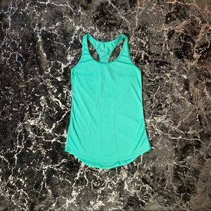 Bright Teal Danskin Now Workout Tank Top